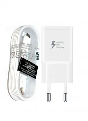 Samsung Hızlı Şarj Aleti Şarj Cihazı 1.5 Metre Kablo + Adaptör